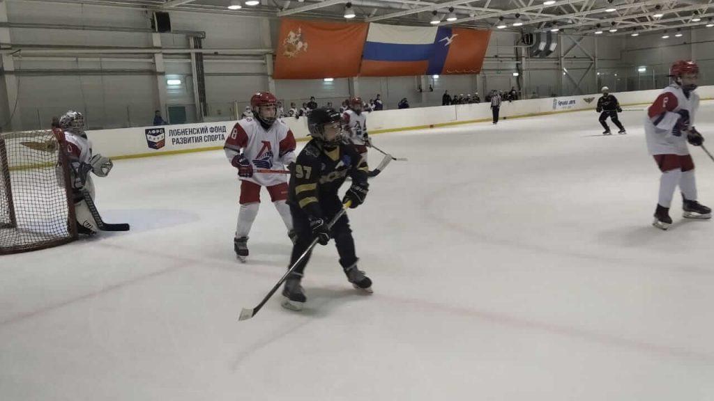 Игра по хоккею Кубок Москвы среди юношей 2008 г.р. и 2009 г.р.