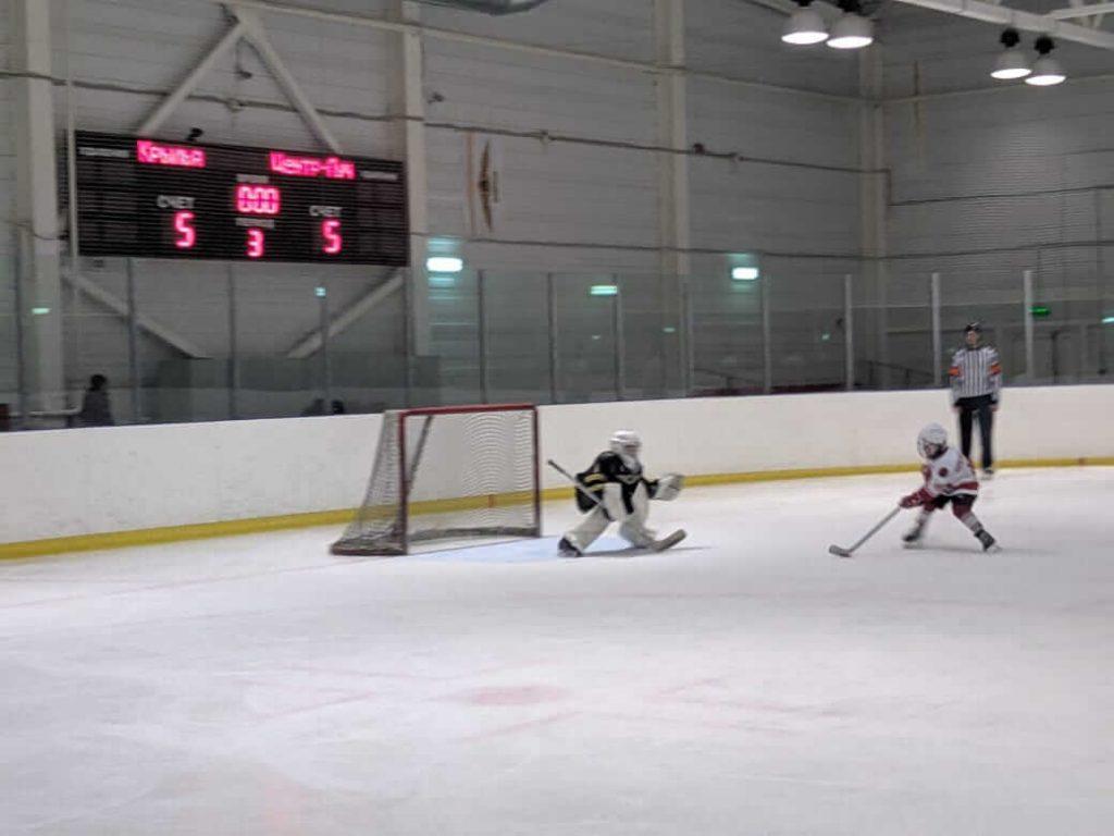 Игра по хоккею Открытое Первенство Московской области среди юношей 2011 г.р.